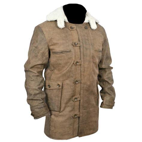 Cowhide Jacket by New Bane Coat Distressed Brown Genuine Cowhide Leather