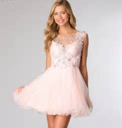 Cute Pink Homecoming Dress