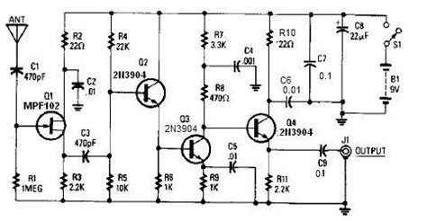 Antenna Project Page Circuits