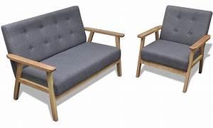 Sofa Mit Holzrahmen : vidaxl sessel oder sofa groupon goods ~ Frokenaadalensverden.com Haus und Dekorationen