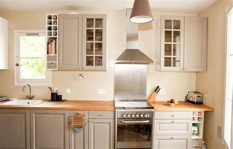 armoires de cuisine moderne idees blanc