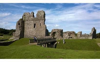 Ogmore Castle Wales Castles Location