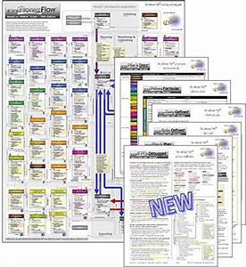 Project Management Pm Process Flow  U0026 Companion Documents Bundle  18 U0026quot  X 24 U0026quot  Poster  U0026 6 Companion