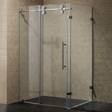 shower glass panel  contemporary bathroom styles