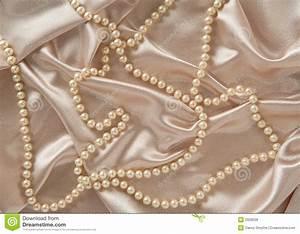 Silk & Pearls Royalty Free Stock Photos - Image: 2928028