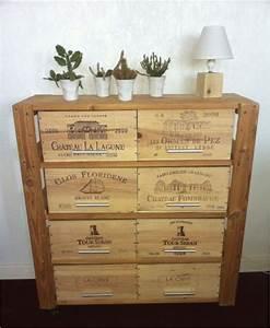 meuble avec des caisses de vins credit monsieurecup With meuble avec caisse de vin