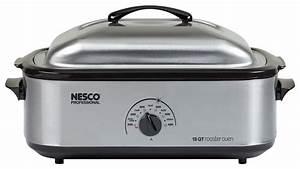 Nesco 18-quart Roaster Oven Silver 4818-25pr