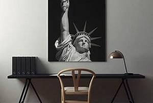 Wandbilder Fürs Büro : das b ro mit dem blick auf manhattan poster und wandbilder f rs b ro bilder und poster ~ Bigdaddyawards.com Haus und Dekorationen