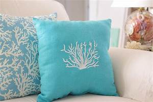 turquoise blue throw pillows doherty house decorative With blue throws and cushions