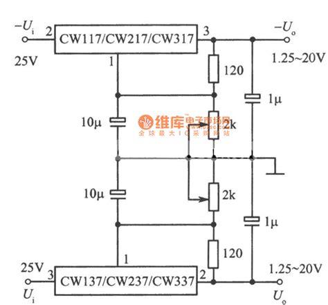 Adjustable Positive Negative Output Voltage Integrated