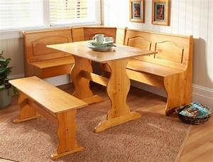 Corner furniture table bench dining set breakfast kitchen for Breakfast nook kitchen table sets