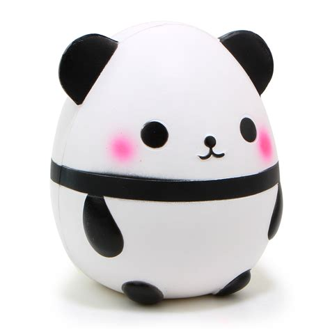 kawaii jumbo panda squishy soft doll collectibles rising