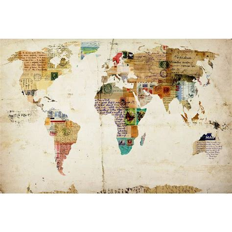 "Home Decorators Collection 24 In X 36 In ""world Map"