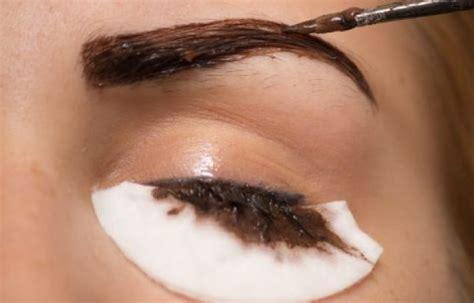 safely tint  eyebrows  henna beautytips