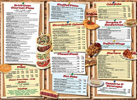 Menus for Bravo Pizza of Glen Mills & Avondale PA
