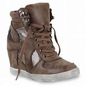 Coole Kostüme Damen : coole damen sneaker wedges keilabsatz sportschuhe 98490 gr 36 41 ebay ~ Frokenaadalensverden.com Haus und Dekorationen