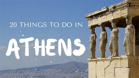 20 Things To Do In Athens Greece Travel Guide Youtube