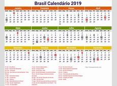 Brasil Government Calendar 2019 newspicturesxyz