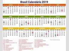 Calendario 2019 Grande Brasil newspicturesxyz