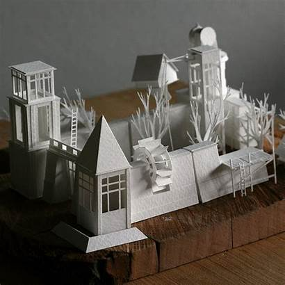 Paper Young Charles Artist Project Architecture Structures
