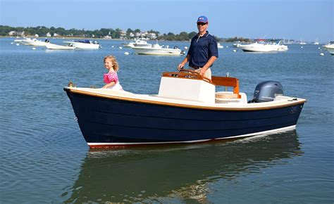 Small Boat New England Cruises by Nantucket Skiff 17 New England Boating Fishing