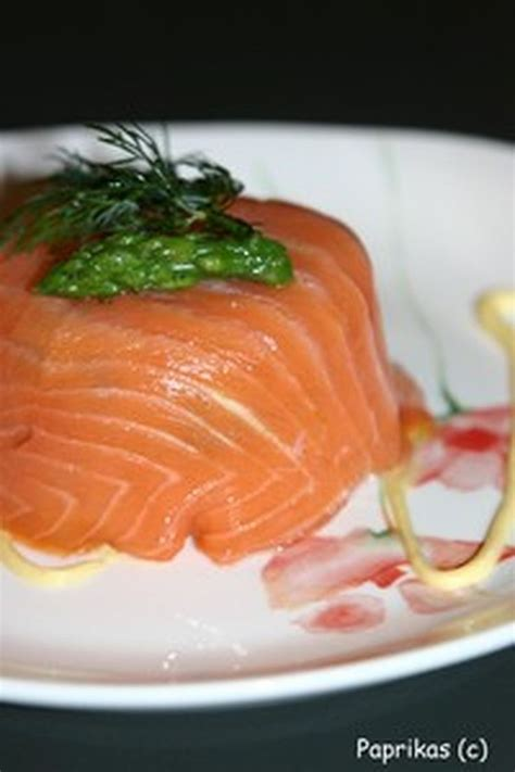 cuisiner saumon frais 17 meilleures idées à propos de recette entrée froide sur