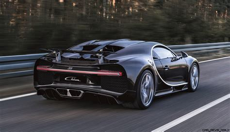 21s, 1500hp 2017 Bugatti Chiron Is 261mph Hypercar God