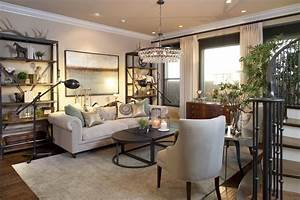 Vibrant Transitional Family Home Living Room Robeson