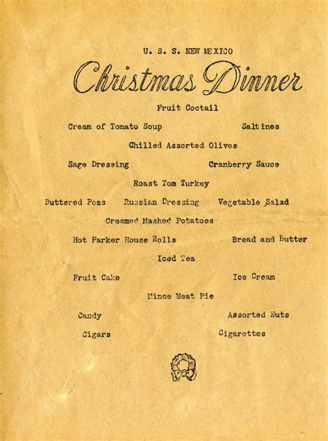 maritimequest christmas dinner menu
