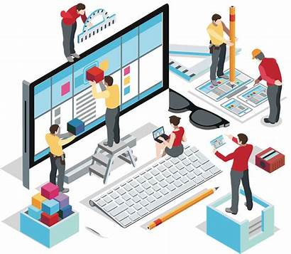 Designing Isometric Ecommerce Business Data Services Im