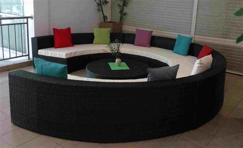 canapé lit rond canapé rond design en quelques idées tendance