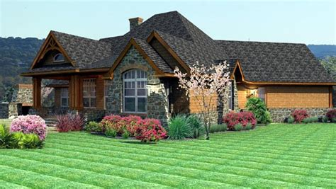 craftsman tuscan house plan