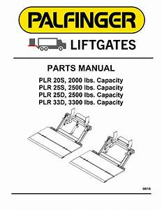 Interlift Plr Liftgate Parts Manual By The Liftgate Parts