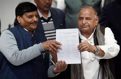 Mulayam Ends Suspense, Releases List Of 325 Party Candidates For Up Polls- The New Indian Express