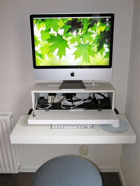 bureau apple bureau apple mac ikea hack tuxboard