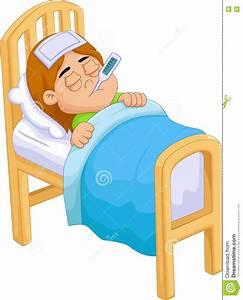 Bett Für 2 Jähriges Kind : krankes m dchen der karikatur im bett stock abbildung illustration von zicklein hurt 78968486 ~ Markanthonyermac.com Haus und Dekorationen