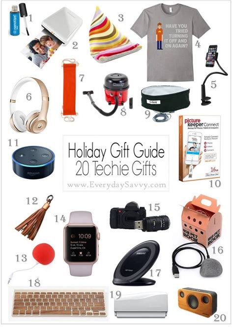 fun tech gift ideas lots of price points
