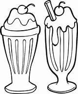 Clipart Cream Ice Soda Milkshake Shake Line Clip Vector Supreme Cold Temperature Illustrations Icecream Illustration Truck Drink Istock Guru Projects sketch template