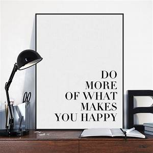 Lifestyle And More : minimalist black motivational life quotes a4 art print poster wall art picture modern nordic ~ Markanthonyermac.com Haus und Dekorationen