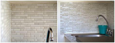 poser carrelage mural cuisine j 39 ai testé le carrelage mural adhésif smart tiles valy