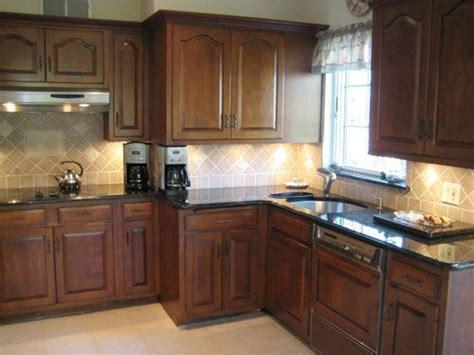 kitchen backsplash ideas with oak cabinets house crashing a traditional tudor cabinets 9062