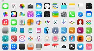 iOS 7 Icons (Updated) by iynque on DeviantArt