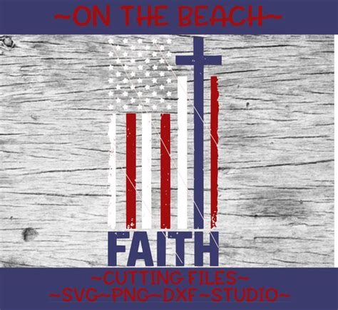 Faith American Flag Svg – 283+ File Include SVG PNG EPS DXF