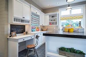 20 chalkboard paint ideas to transform your home office With kitchen cabinets lowes with craft room wall art