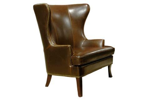 dnudnu wing chair caf 233 leather