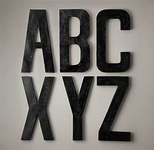 21 best images about metal letters on pinterest french With french shop metal letters