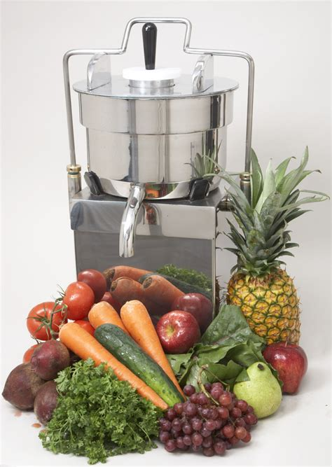 juicer automatic juicers prototype manufactured vegetable stainless steel