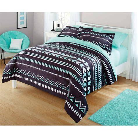 Hello Bedroom Set At Walmart by Your Zone Tribal Bedding Comforter Set Walmart