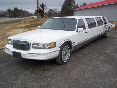 Town Car Limousine by 1997 Lincoln Town Car Limousine