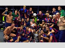 LE BARCA, CHAMPION D'EUROPE ! FCBarcelonecom